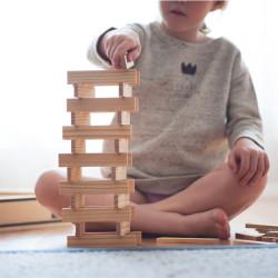 KAPLA 100 piezas - Placas de construcciones de madera