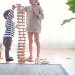 KAPLA 200 piezas - Placas de construcciones de madera