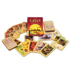Los colones de Catán - juego de cartas para el viaje