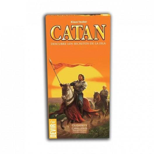Expansión Cuidades y Caballeros de Catán - ampliación para 5 y 6 jugadores