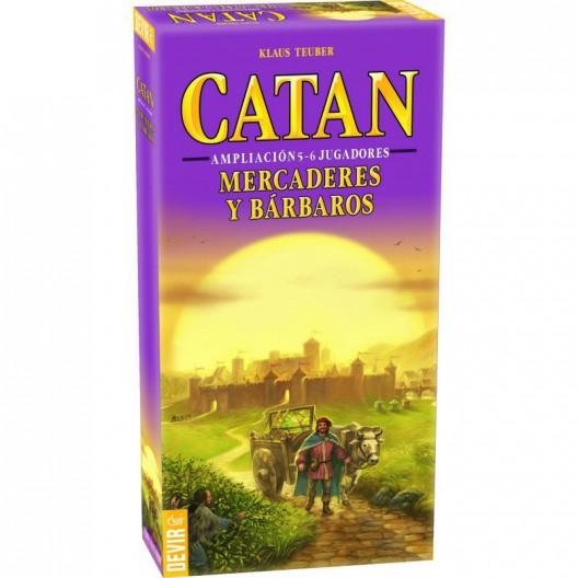 Expansión Mercaderes y Bárbaros de Catán - ampliación para 5 y 6 jugadores