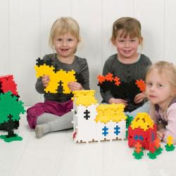Plus-Plus Midi Basic 100 piezas colores básicos - juguete de construcción
