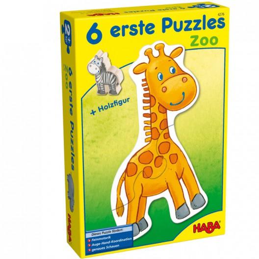 6 Primeros puzzles - Zoo