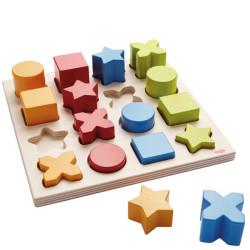 Mix de geometría - Juego de clasificación
