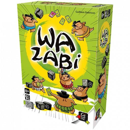 Wazabi - juego de cartas y dados de suerte y reflexión