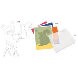 Pintar con canicas - Desfile multicolor