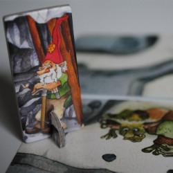 Saboteur: El Desafío - Juego de estrategia con cartas para 2 jugadores