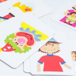 Cucu Tras ¿Qué hay detrás? - juego de cartas de memoria