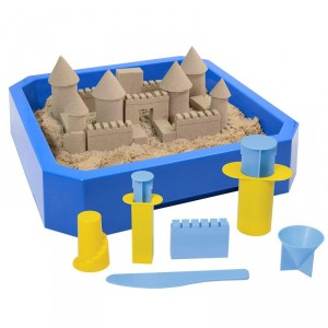Kit completo para hacer castillos - Kinetic Sand