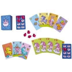 Unicornio Destello - Juego de cartas para 2-6 jugadores