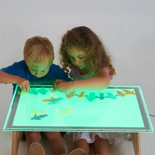 Mesa de Luz Led Colores - tamaño A2