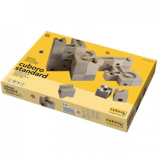 cuboro standard - Caja de iniciación grande con 54 bloques