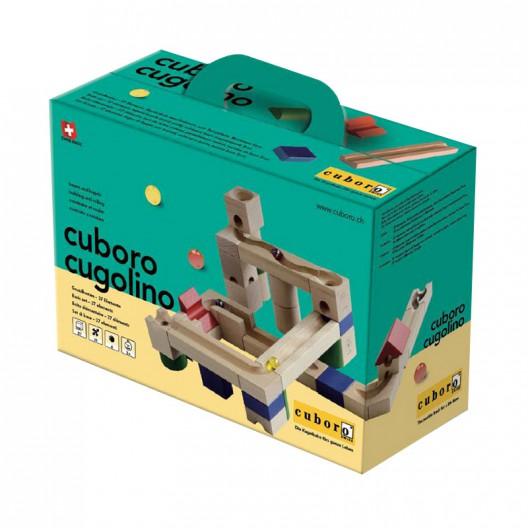 cugolino - Caixa d'iniciació amb 37 blocs de fusta