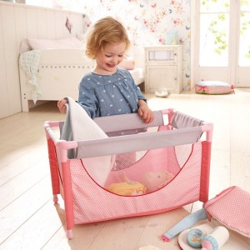 Cuna para muñecas - Muñeco bebé Fritzi