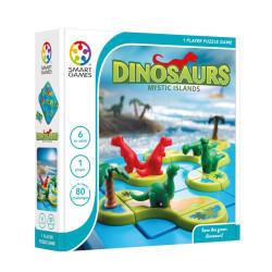 Dinosaurios Islas Misteriosas - juego de lógica multinivel para 1 jugador