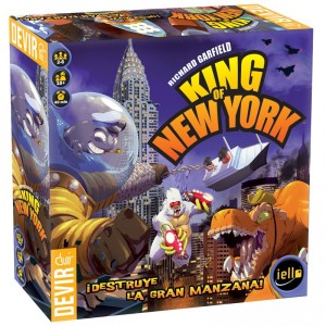 King of New York - monstruoso juego de mesa