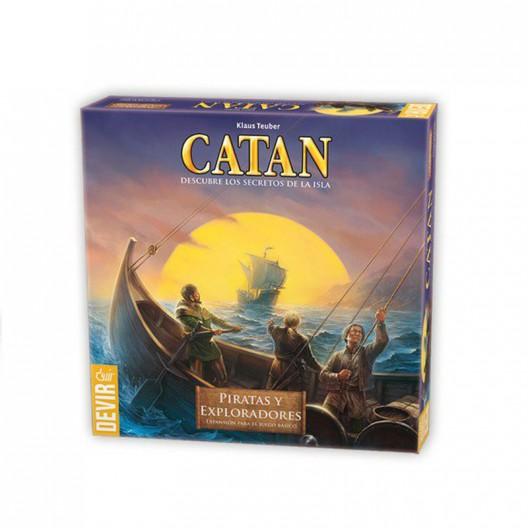 Catan Piratas y Exploradores - expansión para el juego básico