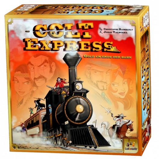Colt Express - trepidante juego de planificación