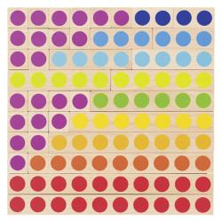 Palitos de cálculo - juego de regletas para aprender a contar