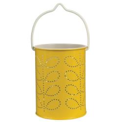 Linterna para velas - Farolillo amarillo mostaza