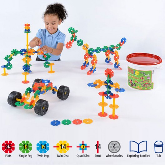 OctoPlay Fun pack 152 piezas - juguete de construción