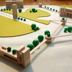 m² mini city - ciudad mini ecológica de madera