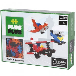 Plus-Plus Mini Basic aviones 170 piezas - juguete de construcción