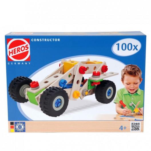 Constructor Coche 100 - Juego de construcción