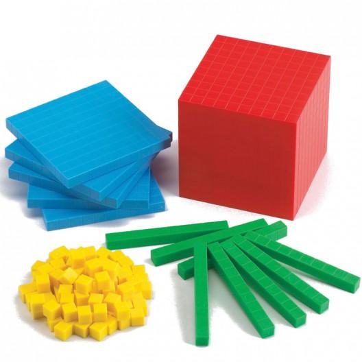 Base 10 - Set de conceptos numéricos uso individual