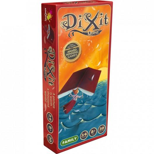 Dixit 2 Expansión Quest - juego de deducción para 3-6 jugadores