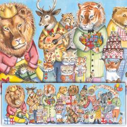 Puzzle Gallery Fiesta del rey - 100 pzas.