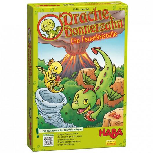 Dragón diente de trueno (Los cristales de fuego) - mi primer juego de dados