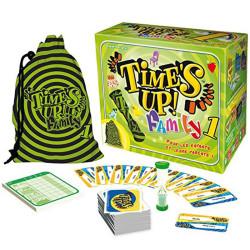 Time's Up! Family - juego de adivinar para 4-12 jugadores