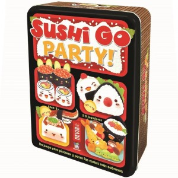 Sushi Go! Party - Juego cartas de estratégia y probabilidad para 8 jugadores