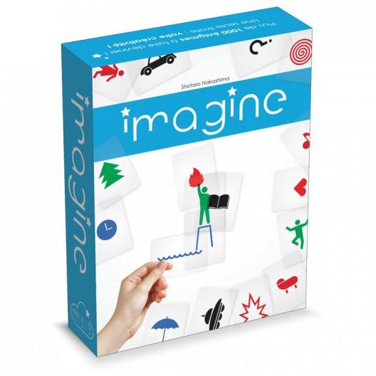 Imagine - creatiu joc de cartes transparents