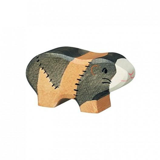 Cobaya - animal doméstico de madera