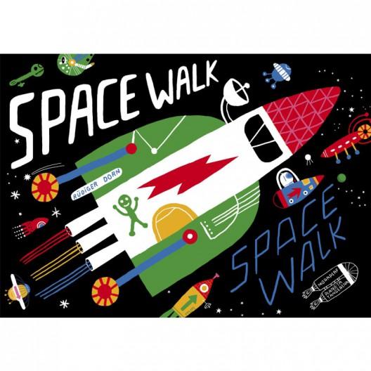Space Walk - espacial juego de táctica de 2 a 5 jugadores