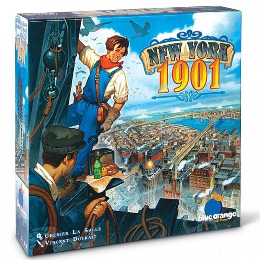 New York 1901 - apasionante juego de desarrollo para 2 a 4 jugadores