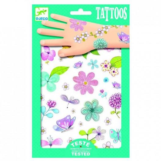 Tatuajes Flores Campestres