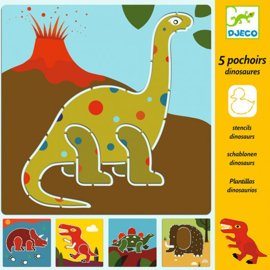 Plantillas para dibujar - Dinosaurios