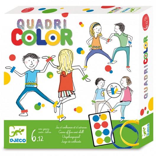 Quadricolor - Juego de socialización y psicomotriz