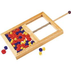 Juego de Mikado de disco - juego de madera