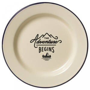 Plato The Adventure Begins de enamel - última unidades