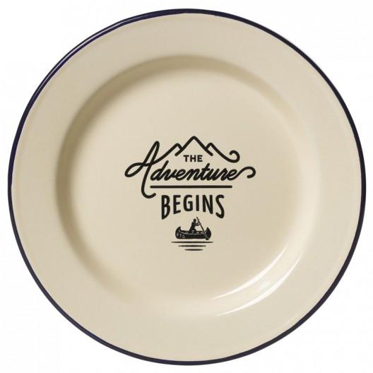 Plato The Adventure Begins de enamel - última unidades
