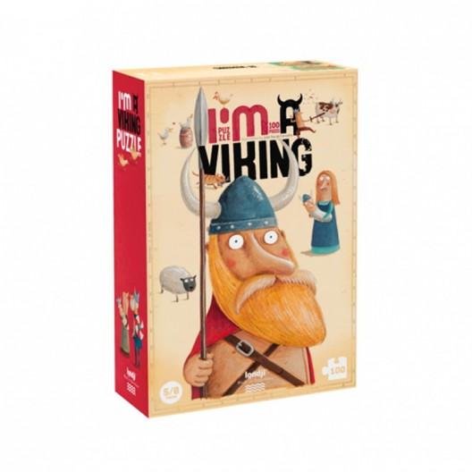 Mi puzzle de Vikingos - 100 pzas.