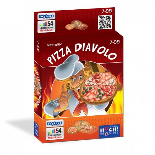 Pizza Diavolo - Puzzle de lógica con transparencias
