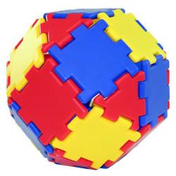 Polydron Junior cubo 124 piezas - juguete de iniciación de formas geométricas