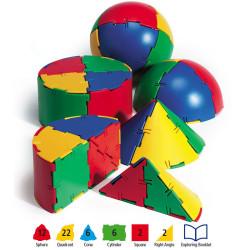 Polydron Sphera 50 piezas - juguete de formas geométricas