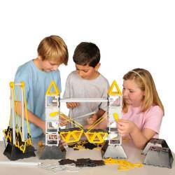 Polydron Bridges para el aula - juguete con 134 piezas para construir puentes
