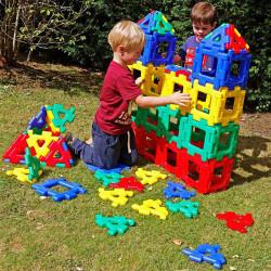 Polydron Gigante set de 40 piezas - juguete de formas geométricas